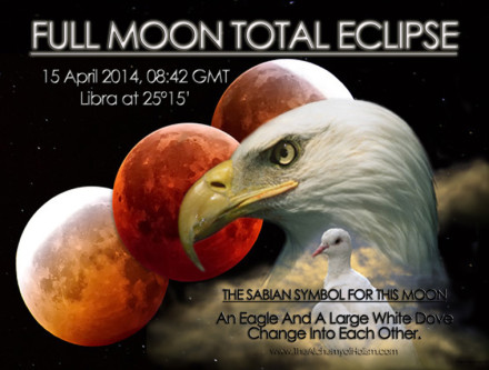 Full Moon Total Eclipse on 15 April 2014