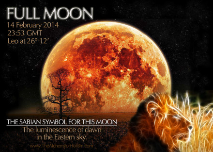 Our 14 February Full Moon