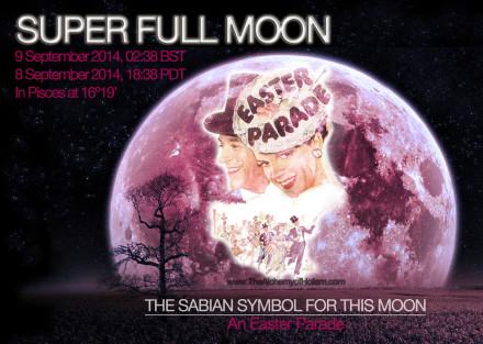 Full Moon on 9 September