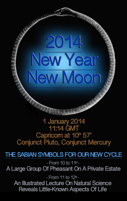 2014 - a New Year, a New Moon, a powerful New Cycle
