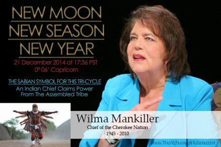 Solstice New Moon on 21 December 2014