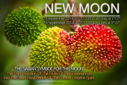 New Moon on 23 September