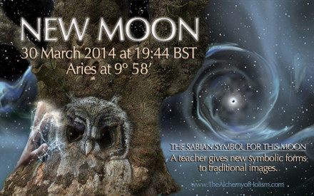 Aries New Moon on 30 March 2014