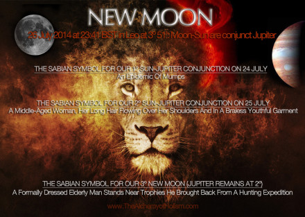 Our New Moon in July 2014