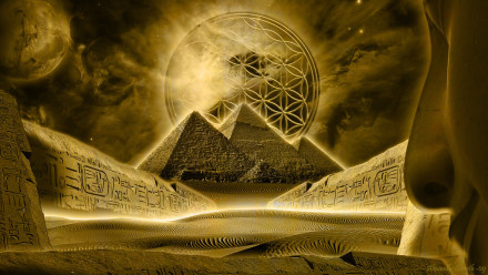 """Graphic: """"Flower of Life"""" by Alex Groseth"""