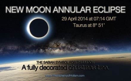 New Moon Annular Eclipse on 29 April 2014