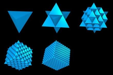 Fractal Tetrahedra